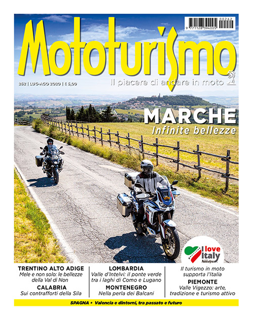 Mototurismo 262 - Luglio-Agosto 2020