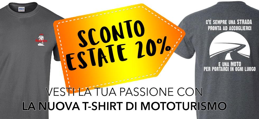La nuova T-Shirt di Mototurismo
